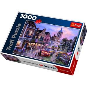 "Trefl (33033) - Dennis Lewan: ""Funfair"" - 3000 pieces puzzle"