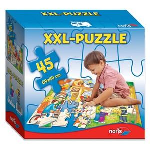 """Noris (6060-38000) - """"Fire Brigade"""" - 45 pieces puzzle"""