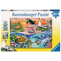 "Ravensburger (10681) - ""Beautiful Ocean"" - 100 pieces puzzle"