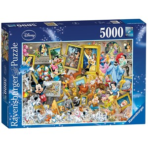 "Ravensburger (17432) - ""Mickey the Artist"" - 5000 pieces puzzle"