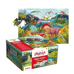 """Ludattica (51373) - """"Dinosaurs"""" - 48 pieces puzzle"""