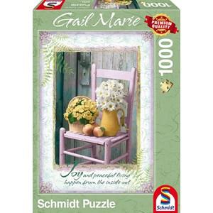 """Schmidt Spiele (59393) - Gail Marie: """"Joy"""" - 1000 pieces puzzle"""