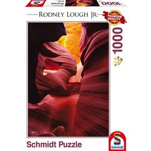 "Schmidt Spiele (59389) - Rodney Lough Jr.: ""Angels Among, Navajo Indian Tribal Reservation, Arizona"" - 1000 pieces puzzle"
