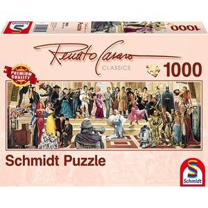 "Schmidt Spiele (59381) - Renato Casaro: ""100 Years of Film"" - 1000 pieces puzzle"