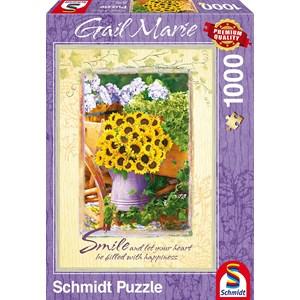 """Schmidt Spiele (59390) - Gail Marie: """"Smile"""" - 1000 pieces puzzle"""