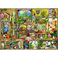 "Ravensburger (19482) - Colin Thompson: ""The Gardener's Cupboard"" - 1000 pieces puzzle"