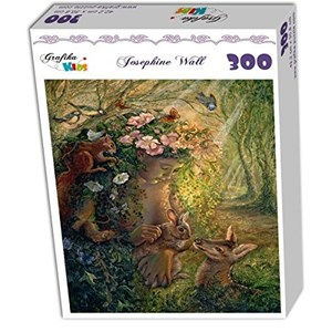 """Grafika Kids (01597) - Josephine Wall: """"The Wood Nymph"""" - 300 pieces puzzle"""