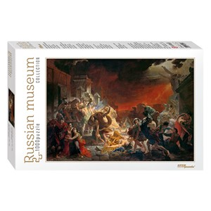 "Step Puzzle (79217) - Karl Bryullov: ""The Last Day of Pompei"" - 1000 pieces puzzle"