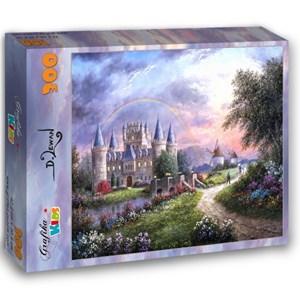 """Grafika Kids (01840) - Dennis Lewan: """"Inverary Castle"""" - 300 pieces puzzle"""