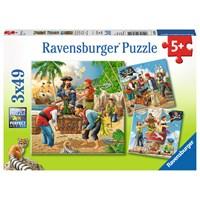 "Ravensburger (08030) - ""Pirates"" - 49 pieces puzzle"