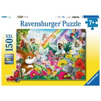 "Ravensburger (10044) - ""Beautiful Fairy Forest"" - 150 pieces puzzle"
