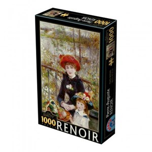 "D-Toys (66909-RE01) - Pierre-Auguste Renoir: ""On the Terrace"" - 1000 pieces puzzle"
