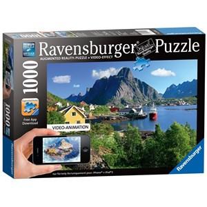 "Ravensburger (19303) - ""Lofoten Norway"" - 1000 pieces puzzle"