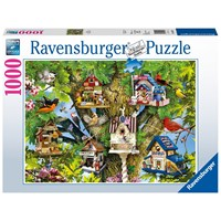 "Ravensburger (19691) - Lori Schory: ""Bird Village"" - 1000 pieces puzzle"
