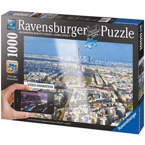 "Ravensburger (19302) - ""Above The Roofs Of Paris"" - 1000 pieces puzzle"