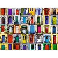 """Ravensburger (19524) - """"Doors of the World"""" - 1000 pieces puzzle"""