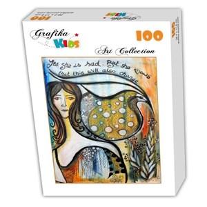 "Grafika Kids (02018) - ""This too shall pass"" - 100 pieces puzzle"