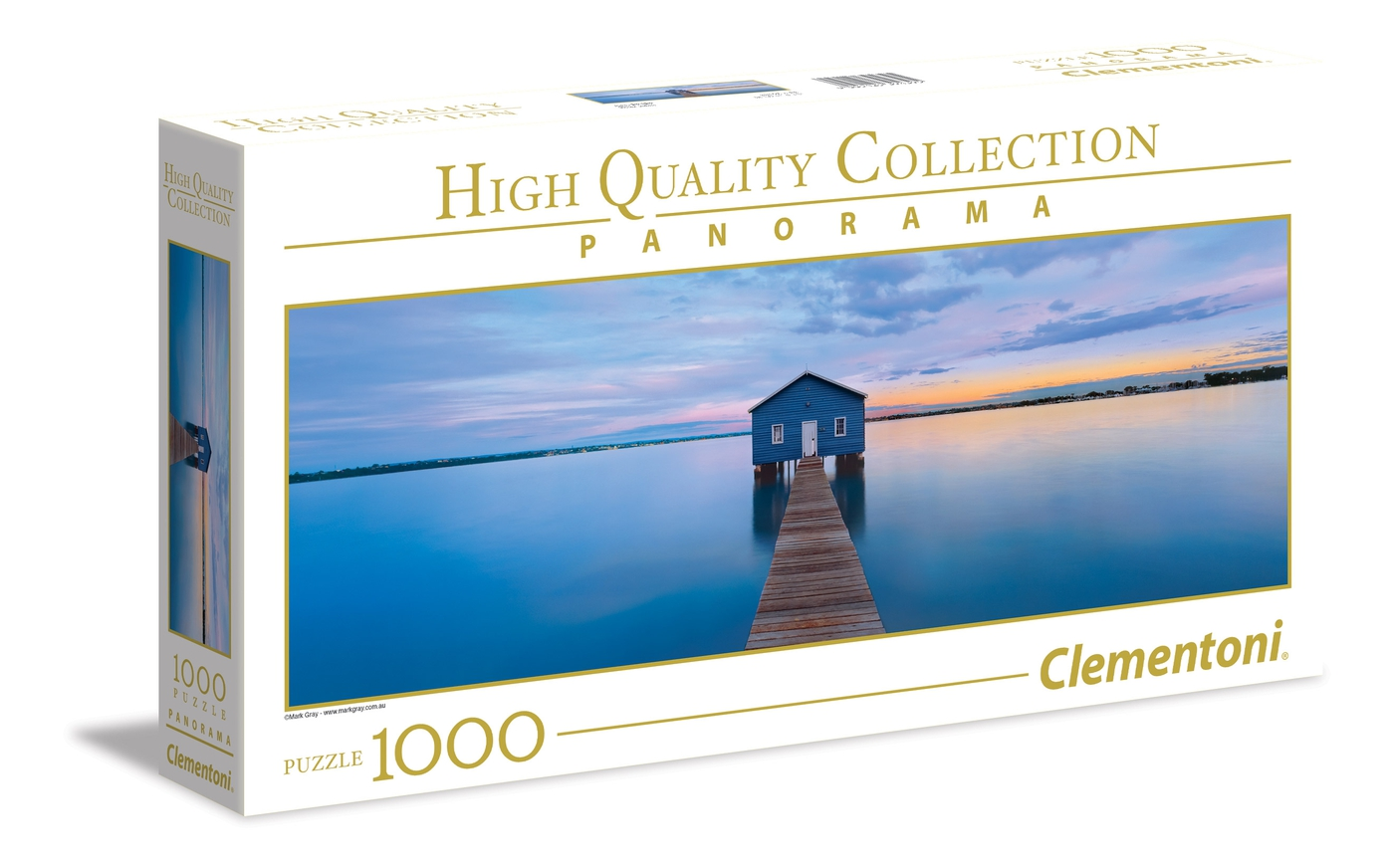 Clementoni 39396 High Quality Beside Still Water 1000pc Panorama Jigsaw Puzzle