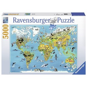 "Ravensburger (17428) - ""Fascinating Earth"" - 5000 pieces puzzle"