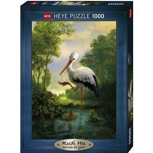 "Heye (29619) - Rudi Hurzlmeier: ""New Shoes"" - 1000 pieces puzzle"