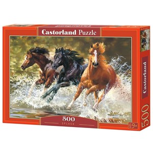 """Castorland (B-51823) - Bonnie Marris: """"Splash"""" - 500 pieces puzzle"""