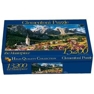 "Clementoni (38007) - ""Dolomites, Italy"" - 13200 pieces puzzle"