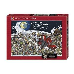 "Heye (29420) - Daniel Lalic: ""Where's Elvis?"" - 1000 pieces puzzle"