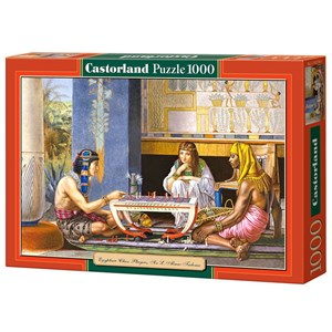 """Castorland (C-102778) - Lawrence Alma-Tadema: """"Egyptian Chess Players"""" - 1000 pieces puzzle"""