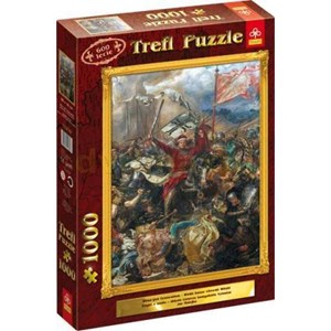 "Trefl (10231) - Jan Matejko: ""Battle of Grunwald"" - 1000 pieces puzzle"