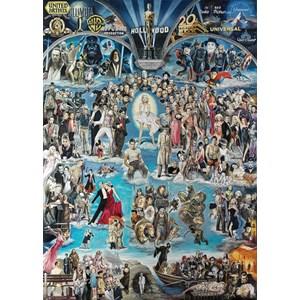 "Schmidt Spiele (59347) - Renato Casaro: ""Hollywood XXL"" - 3000 pieces puzzle"