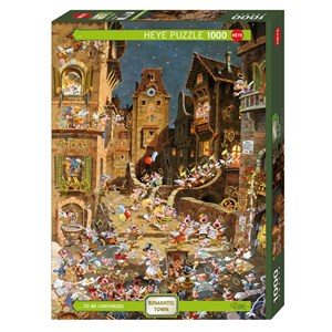 """Heye (29875) - Michael Ryba: """"By Night"""" - 1000 pieces puzzle"""
