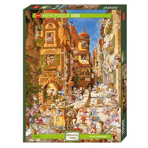 """Heye (29874) - Michael Ryba: """"By Day"""" - 1000 pieces puzzle"""