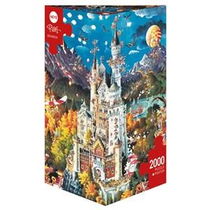 "Heye (29700) - Michael Ryba: ""Bavaria"" - 2000 pieces puzzle"