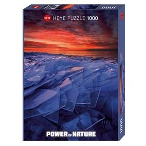 """Heye (29862) - Ryan Tischer: """"Ice Layers"""" - 1000 pieces puzzle"""