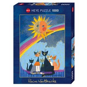 "Heye (29854) - Rosina Wachtmeister: ""Gold Rain"" - 1000 pieces puzzle"
