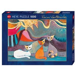 "Heye (29853) - Rosina Wachtmeister: ""Yellow Ribbon"" - 1000 pieces puzzle"