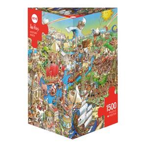 """Heye (29890) - Hugo Prades: """"History River"""" - 1500 pieces puzzle"""
