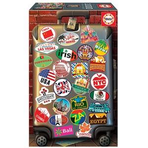 """Educa (18002) - """"Love to Travel"""" - 1000 pieces puzzle"""