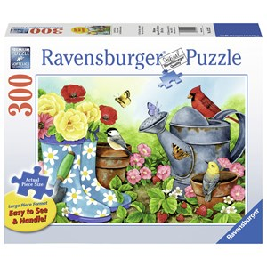 "Ravensburger (13223) - Jane Maday: ""Garden Traditions"" - 300 pieces puzzle"
