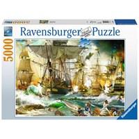"Ravensburger (13969) - ""Battle on the High Seas"" - 5000 pieces puzzle"