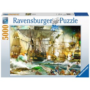 "Ravensburger (13969) - ""Battle on the High Seas"" - 5000 pieces puzzle"
