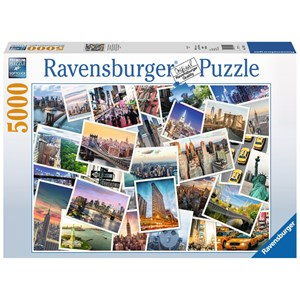 "Ravensburger (17433) - ""New York"" - 5000 pieces puzzle"