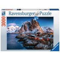 "Ravensburger (17081) - ""Lofoten, Norway"" - 3000 pieces puzzle"