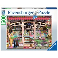 "Ravensburger (16221) - ""Ice Cream Shop"" - 1500 pieces puzzle"