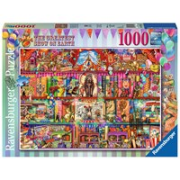 """Ravensburger (15254) - """"The Greatest Show on Earth"""" - 1000 pieces puzzle"""