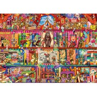 "Ravensburger (15254) - ""The Greatest Show on Earth"" - 1000 pieces puzzle"