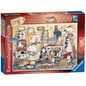 "Ravensburger (15174) - Linda Jane Smith: ""Go Salvage Hunting"" - 1000 pieces puzzle"
