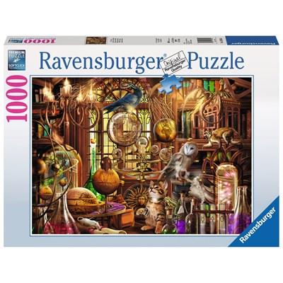 """Ravensburger (19834) - """"The Magicians Study"""" - 1000 pieces puzzle"""