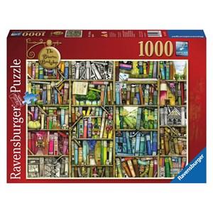 """Ravensburger (19226) - Colin Thompson: """"The Bizarre Bookshop"""" - 1000 pieces puzzle"""