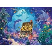 """Ravensburger (13255) - """"Deep Sea Treasure"""" - 300 pieces puzzle"""